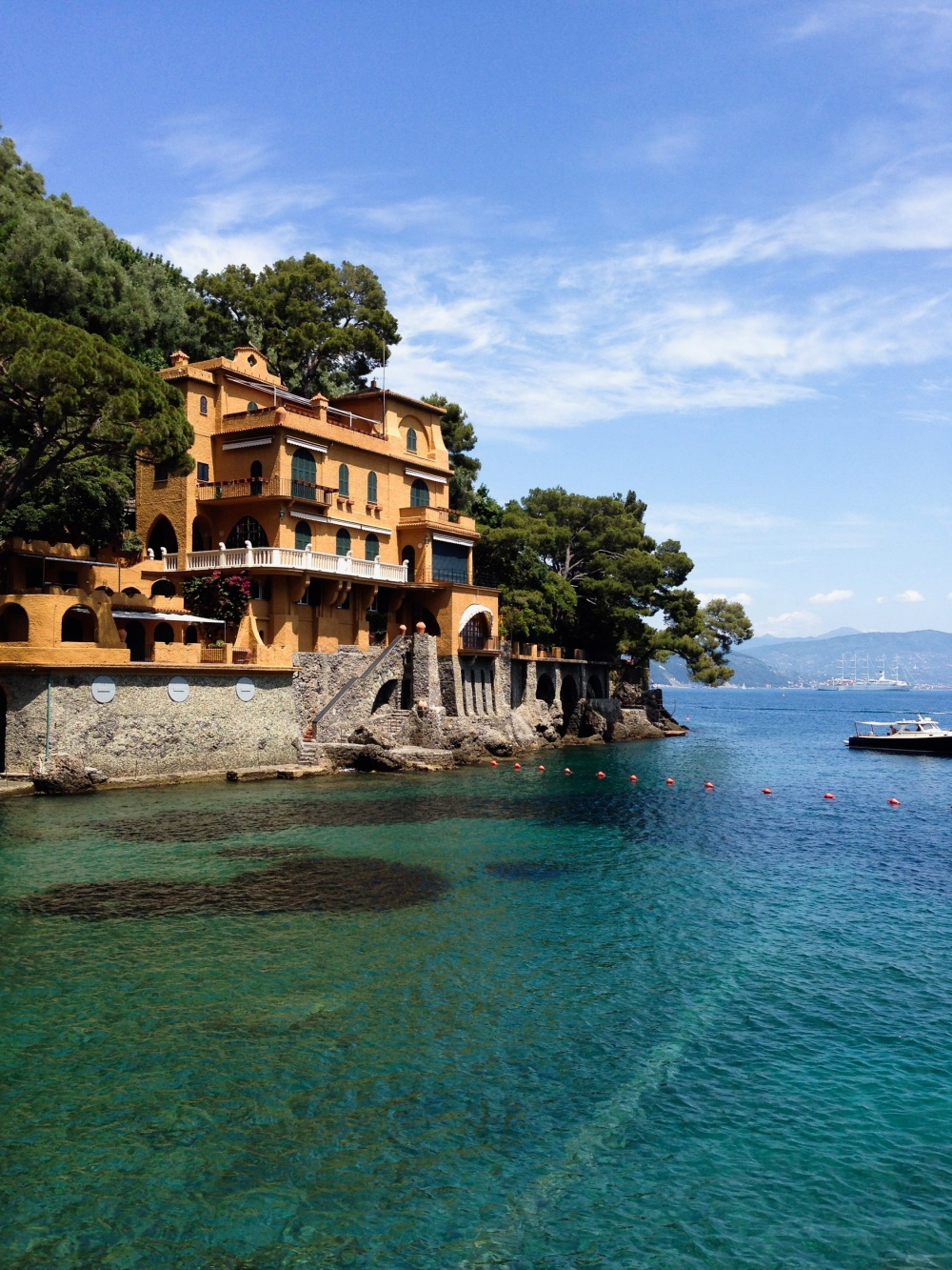 Portofino italy, backpack europe travel