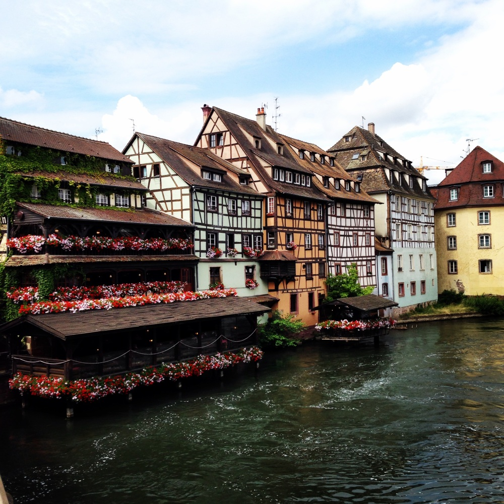 Strasbourg, France travel, backpack Europe