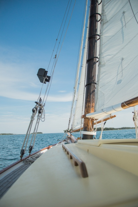 things to do in bar harbor, acadia national park, girls trip, sailing maine